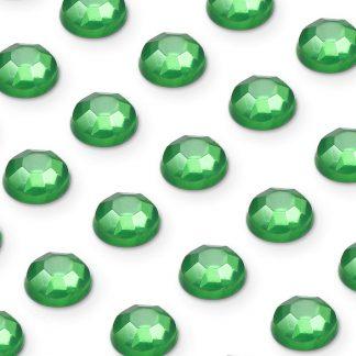 176 St. Selbstklebende Schmucksteine - Runde 3 mm (grün) id76 new